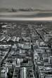 Leinwandbild Motiv Frankfurt city HDR