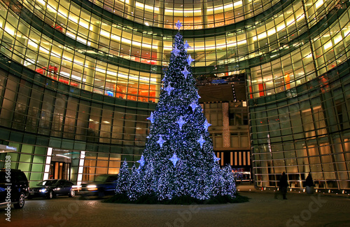 Photo  The Christmas decorations in Midtown Manhattan