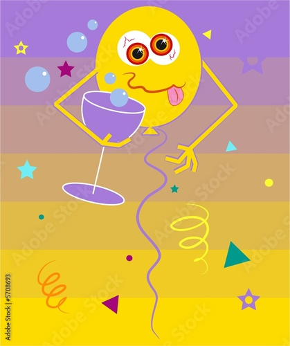 Photo  party balloon