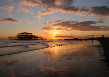 Brighton - West Pier Sunset