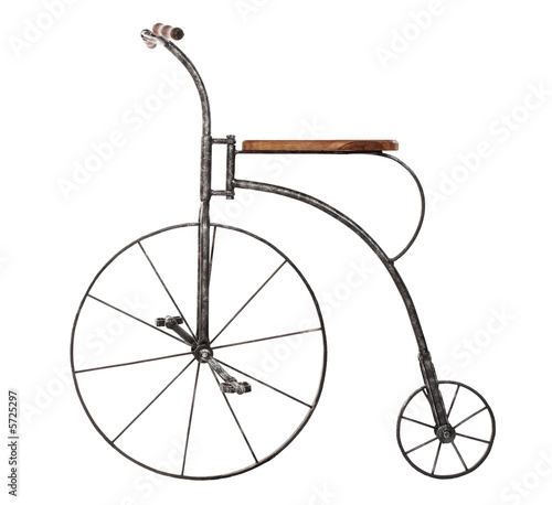 Deurstickers Fiets old fashioned bicycle