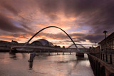 The Quayside of Newcastle and Gateshead