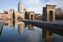 Temple Of Debod, In Madrid