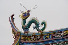 Dragon Roof Top, Taoist Temple, Fujian, China