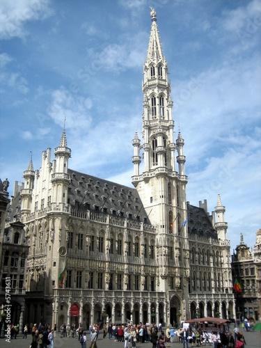 Foto op Canvas Brussel Brüssel - Rathaus