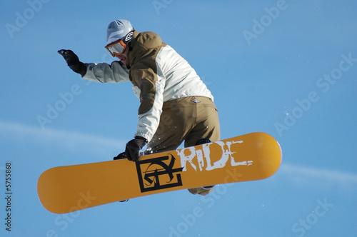 Fotografie, Obraz  Snowboarder 7