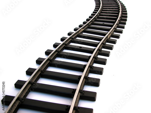 Poster Voies ferrées rail track