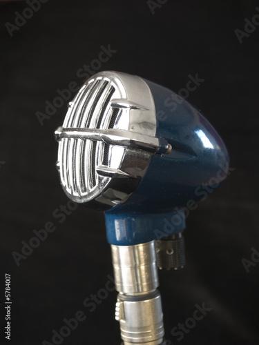 Photo Vintage microphone