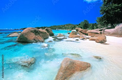 Foto-Kissen - anse lazio seychelles