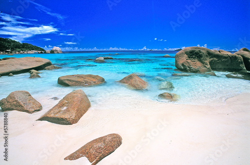 Foto Rollo Basic - anse lazio seychelles (von Pat on stock)