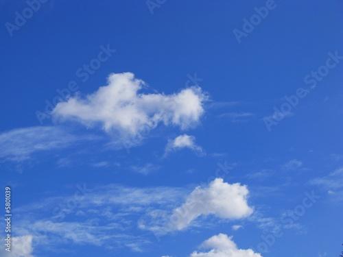 Foto op Plexiglas Hemel Cielo azul