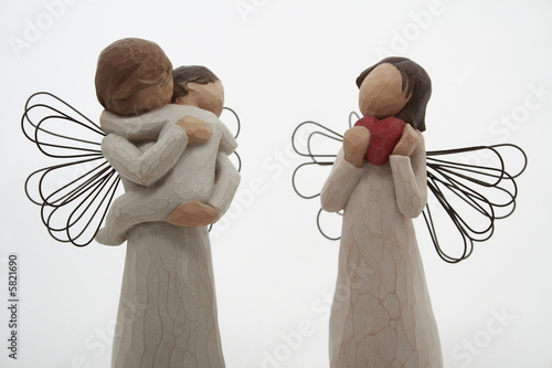 Photo Love and child angel