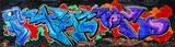Fototapeta Młodzieżowe - Amazing colorful urban graffiti