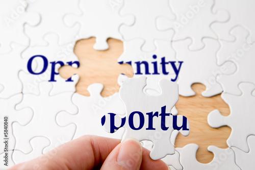Fotografía  Opportunity Puzzle