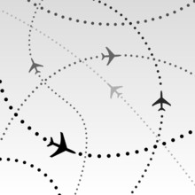 Airplanes Airlines Flight Path...