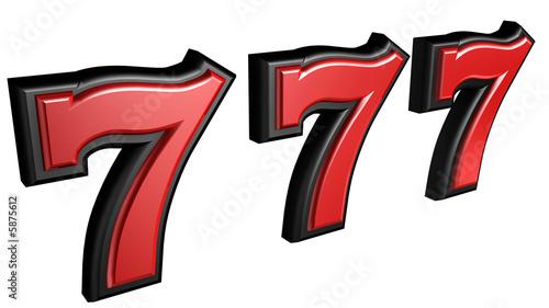 Tela  slot seven sign