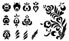 Ornamental Design Elements Set