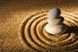 canvas print picture Zen stones