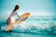 canvas print picture - sexy surf 11