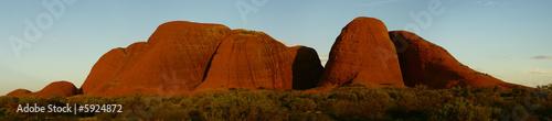 Photo Stands Australia Kata Tjuta panorama 2
