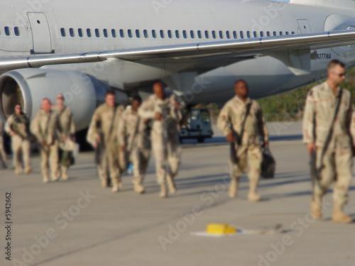 Fotografie, Obraz  Veterans Coming Home