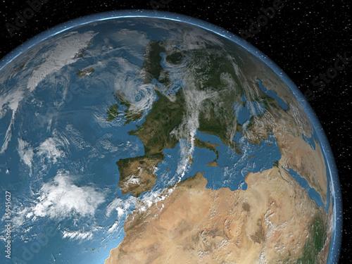 globe-europa-z-kosmosu
