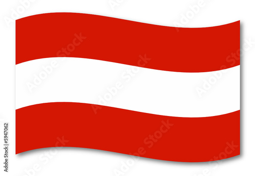 Photo Stands United States österreich austria fahne schatten