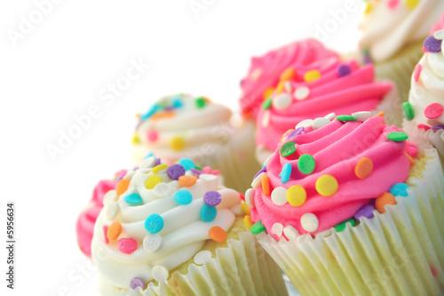 Photo  Birthday Cup Cakes