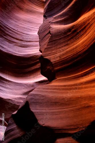Valokuva  antelope canyon