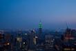 Manhattan in the twilight. New York