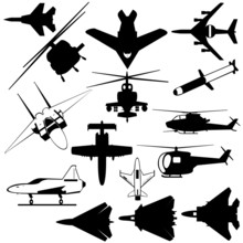 Air Force Jets, Helicopters And Bomb