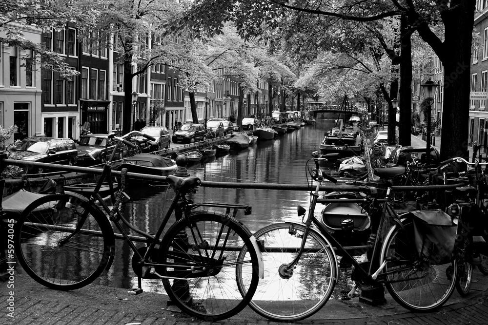 Fototapeta Bloemgracht d'Amsterdam