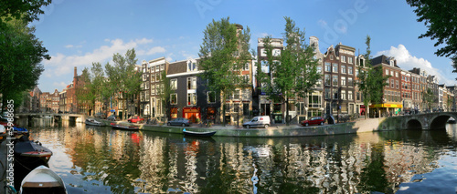 Spoed Foto op Canvas Amsterdam Amsterdam. Canal #7.