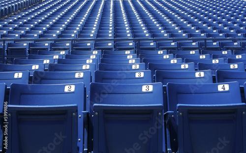 Aluminium Prints Stadion Stadium/Arena Seats