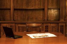 Laptop In Classic Room