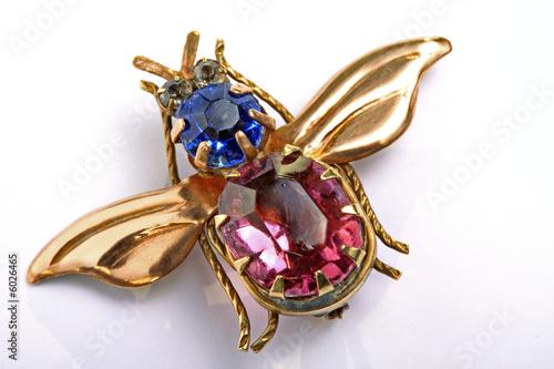 Photo antic brooch, jewelry