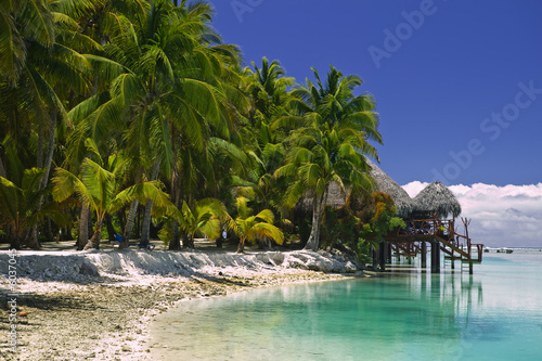 Fototapety, obrazy: Tropical Dream Beach Paradise of the South Pacific