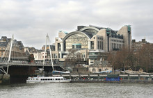 Charing Cross Station In London