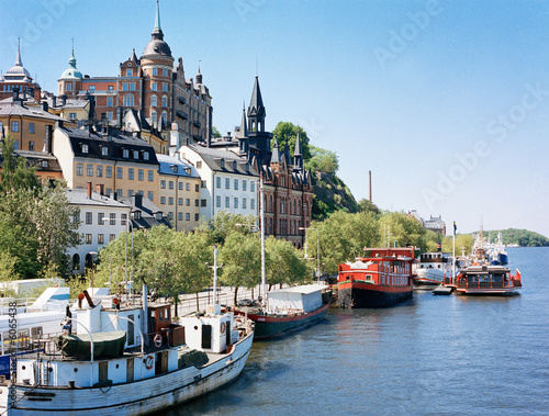 Fotobehang Stockholm Stockholm
