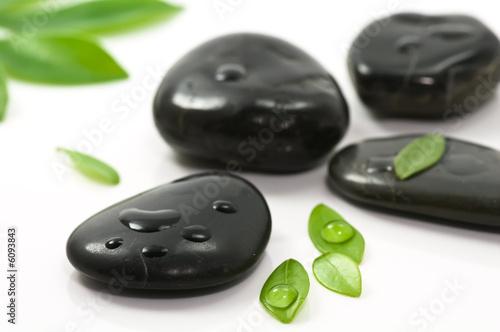 Doppelrollo mit Motiv - Therapy stones (von Tund)