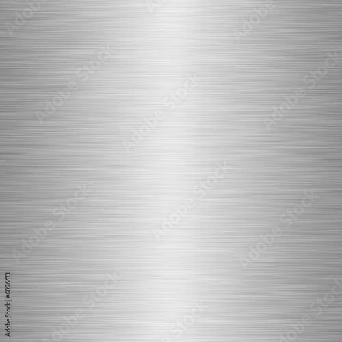 Fotografie, Obraz  enormous sheet of brushed metal texture
