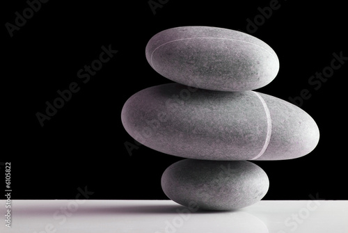 Doppelrollo mit Motiv - stones (von angelo.gi)