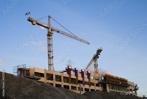 Photo Construction de logements et bureaux à Asnières