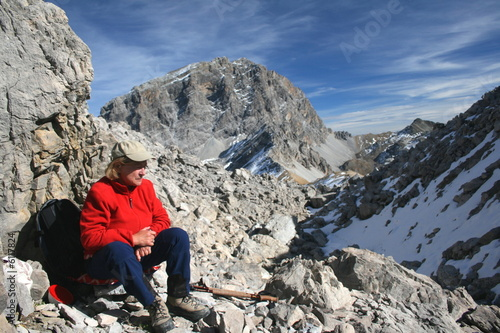 Photo Stands Mountaineering Piz Ela