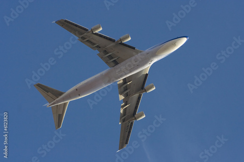 Fotografia  747 Fly-by