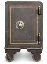 Antique Iron Safe
