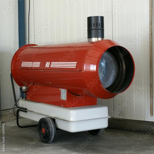 canon à chaleur