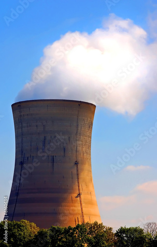 Photo  Nuclear cooling tower
