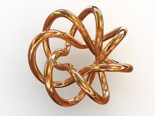 Torus Knot. 3d