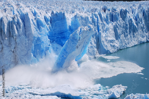 Fotografia Glacier Collapse